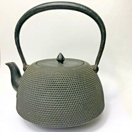Japanese Tetsubin Cast Iron Teapot Tea Kettle