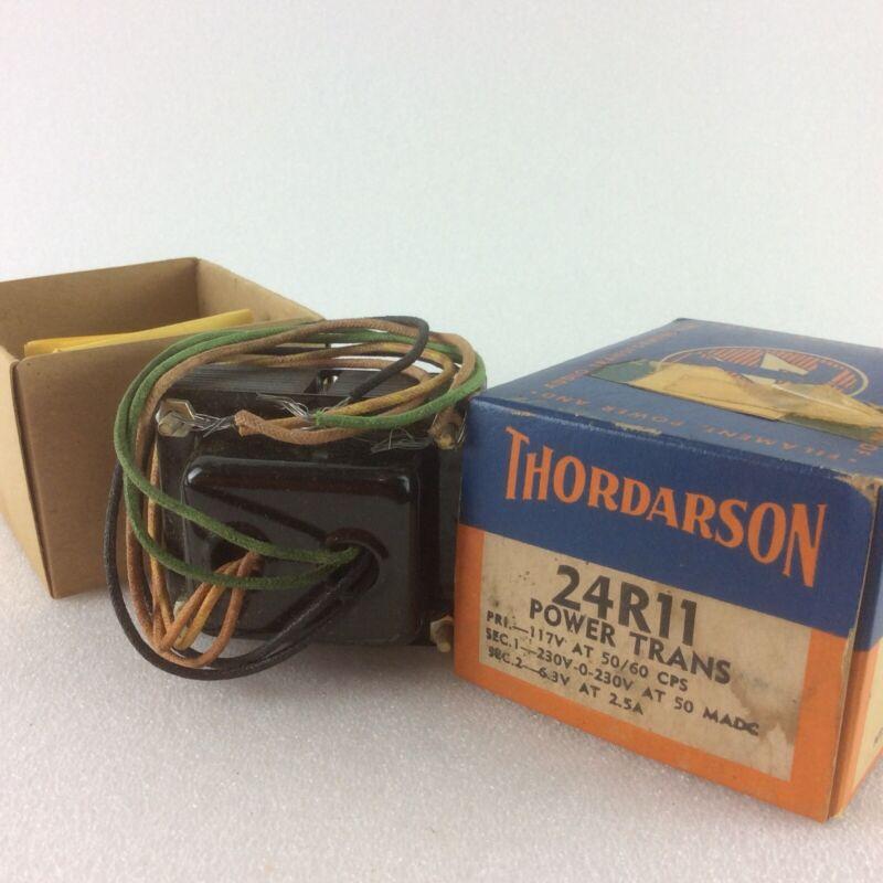 1 NIB Thordarson 24R11 Transformer