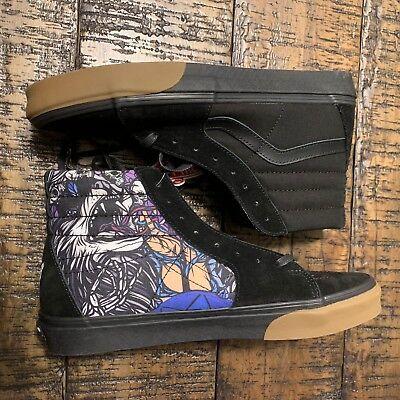 Vans SK8-Hi Black Schoph US Men's Size 13 Rare Vault VN0A38GEU7U