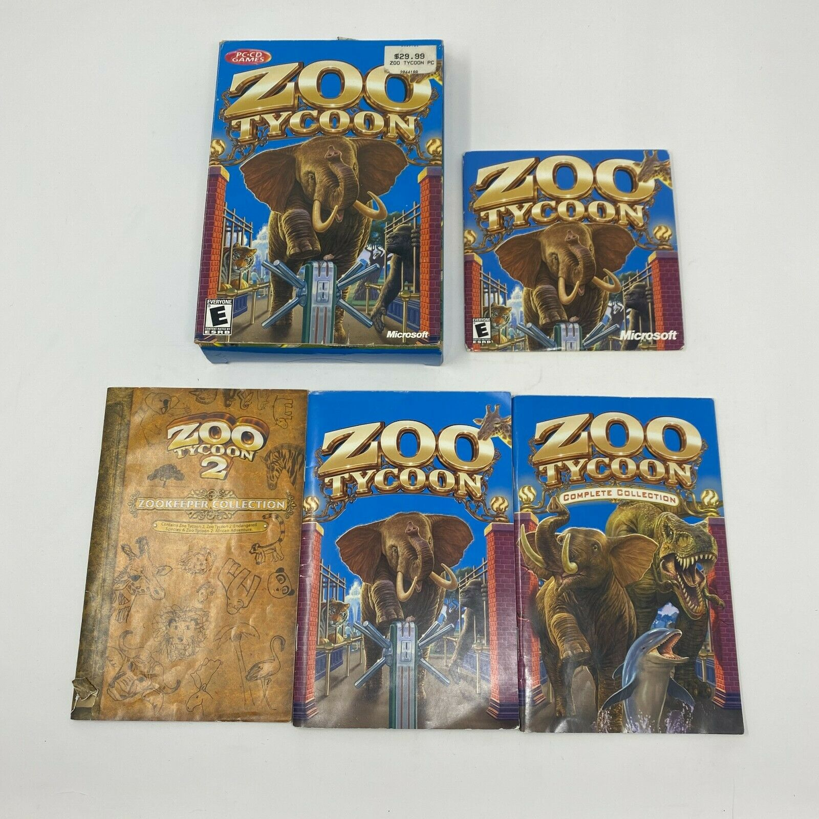 Computer Games - Zoo Tycoon: PC Computer Game by Microsoft