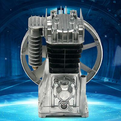2hp Piston Twin Cylinder Air Compressor Pump Motor Head Air Tool 1.5kw 175lmin