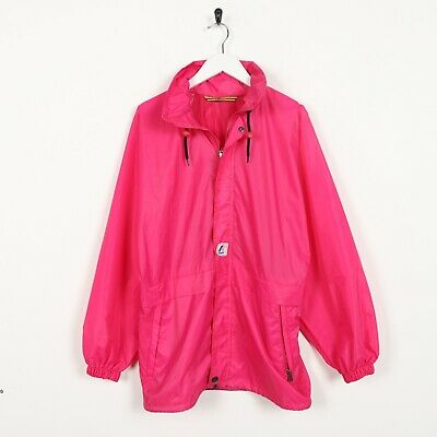 Vintage K-WAY Small Logo Lightweight Anorak Cagoule Jacket Pink | XS
