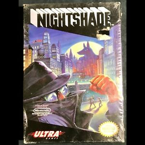 Factory sealed Nightshade for NES