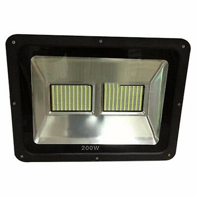 LED COMMERCIAL FLOOD LIGHT 100WATT / 150 WATT / 200WATT SMD Black 6500K
