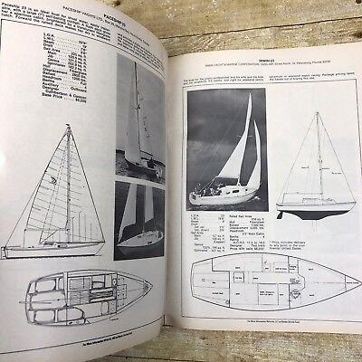 Vintage Sailboat & Equipment Catalog Guide 1973 Many Model Nauti-Cat Etc Boating