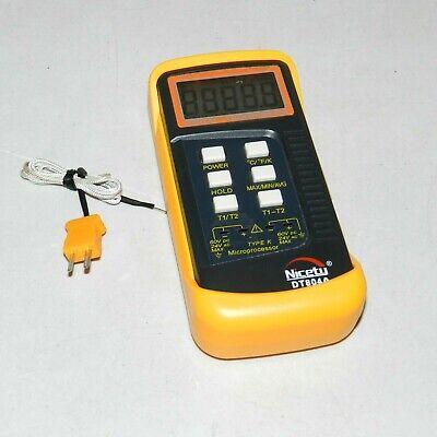 Scientific Digital Thermometer Sensor Probe K-type Hvac Tool Temperature