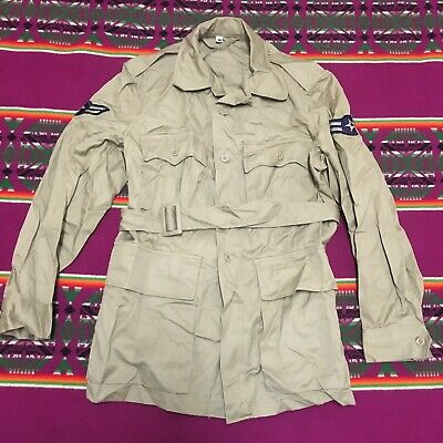 ORIGINAL VINTAGE 50S US AIR FORCE TROPICAL JACKET EXCELLENT COND 40R 1956