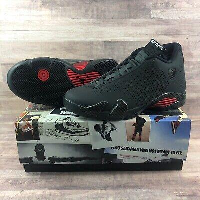 Air Jordan 14 Retro SE BLACK FERRARI BQ3685-001 Men Basketball Shoes Size 9.5