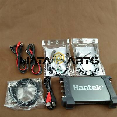 Hantek Pc Usb Digital Storage Virtual Oscilloscope 6104bd 100mhz 1gsas 4ch