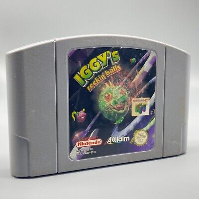 Jeu - Iggy's Recking Balls - Nintendo - PAL - N64 - Nintendo 64 (ML)