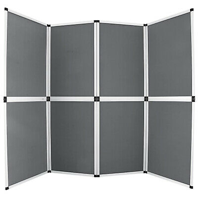 6x8 Folding 8 Panels Trade Show Display Booth Advertising Panel Header Screen
