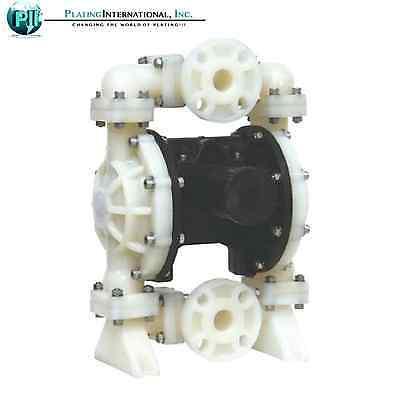 Double Diaphragm Air Pump Industrial Polypropylene 1