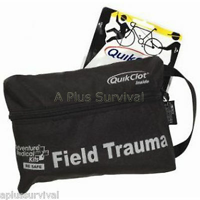 Field Trauma Kit - Quik Clot Pro Field Trauma Tactical Pack Blood Stopper First Aid Survival Kit