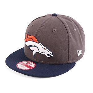 New-Era-950-Emea-Broncos-De-Denver-Berretto-Da-Baseball-Berretto-grigio