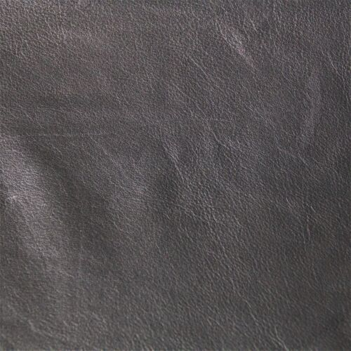 "Black 12""x24"" Cowhide Leather Craft Panel- Frogjelly Leather"