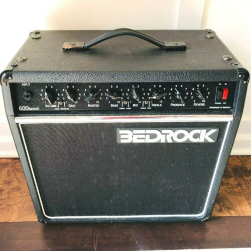 Bedrock 600 Series Handmade Boutique Guitar Amp Amplifier Vintage