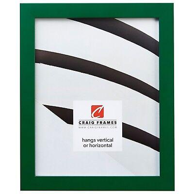 Craig Frames Confetti, Modern Dark Green Solid Wood Picture