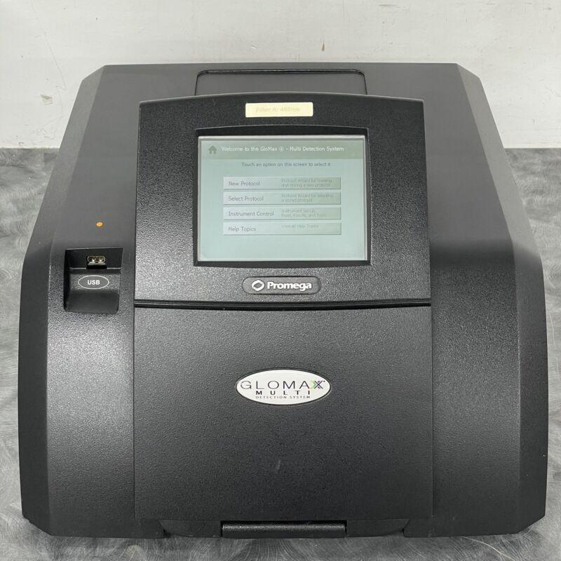 Promega E7031 Glomax MultiDetection System MultiMode Reader - Tested