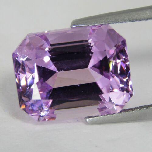 11.47Cts Natural Unique Pink Kunzite Emerald Cut Collection Loose Gem Ref VDO