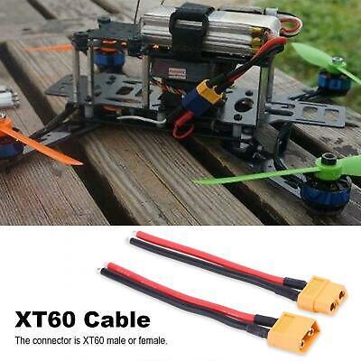XT60 Male Cable XT60 Connector Cable 2 Pieces/set Excellent Electrical