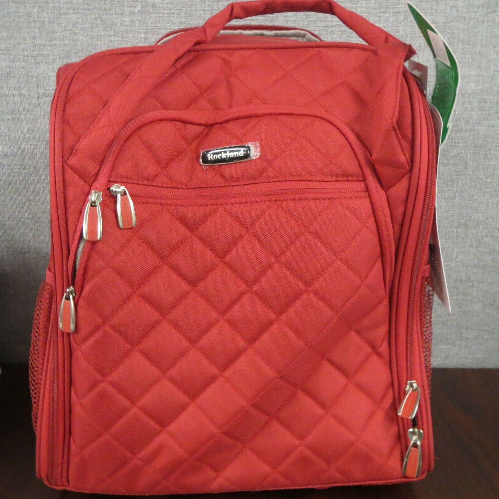 Rockland Melrose Collection Wheeled Underseat Carry On Trave