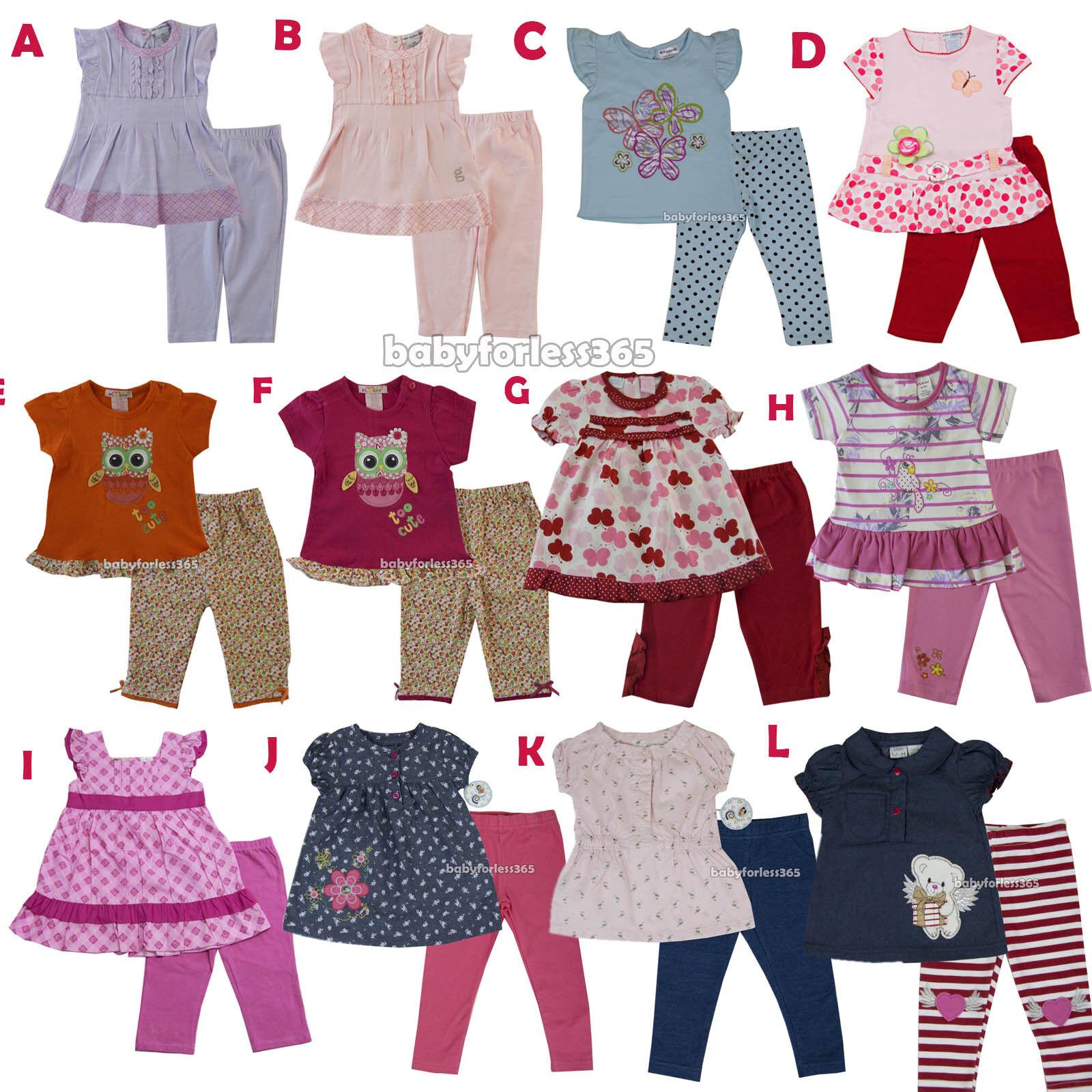 2PC Baby Boy Kids Toddler Long Sleeve Top+Pants Set Cotton Clothes 3-6-9-12-18M