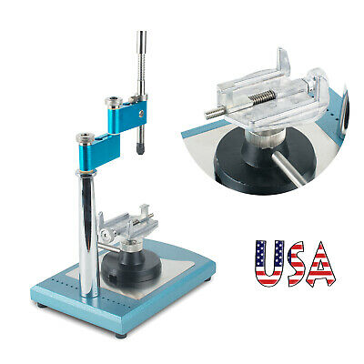 Dentist Dental Lab Parallel Surveyor Visualizer Holder 7 Spindle Machine Table