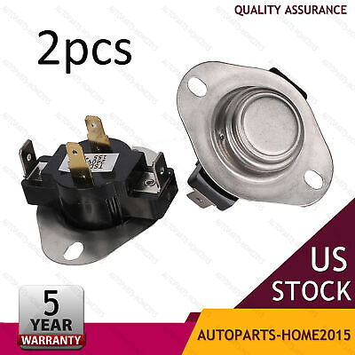 2pcs Dryer Cycling Thermostat Replacement Parts  For Whirlpool Kenmore Maytag US Maytag Replacement Parts