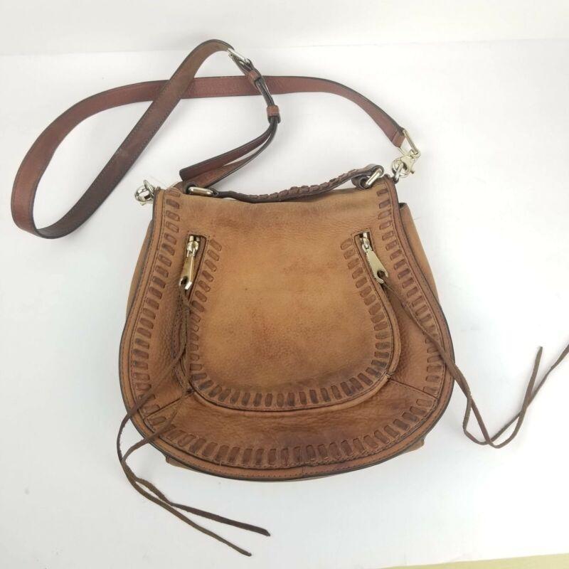 Rebecca Minkoff Vanity Ladies Small Leather Saddle Handbag HR26INUX42 Crossbody.