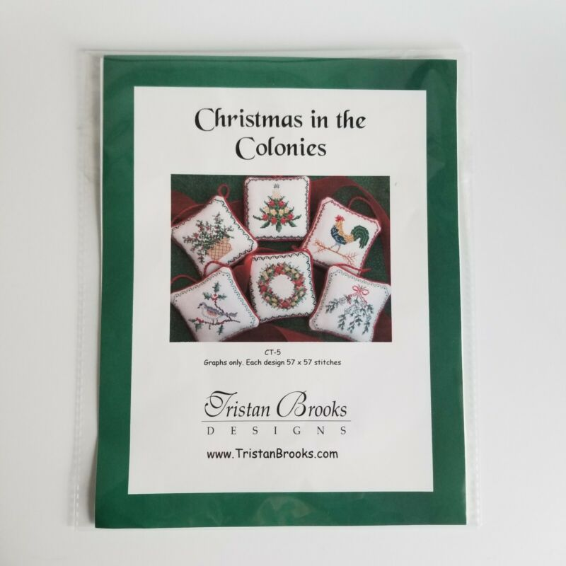 Christmas in the Colonies Tristan Brooks Cross Stitch Pattern