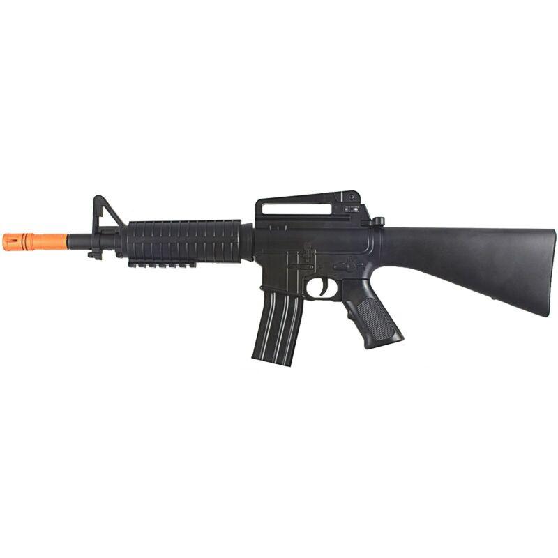 185 FPS AIRSOFT SPRING M4 A1 TACTICAL RIFLE GUN w/ 6mm BB BBs M16 Air