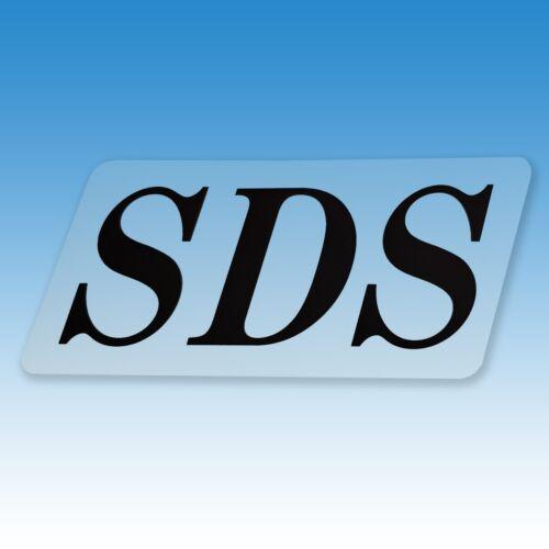 Aufkleber SDS für Holder C 200 und C 300 015364 Foto 1