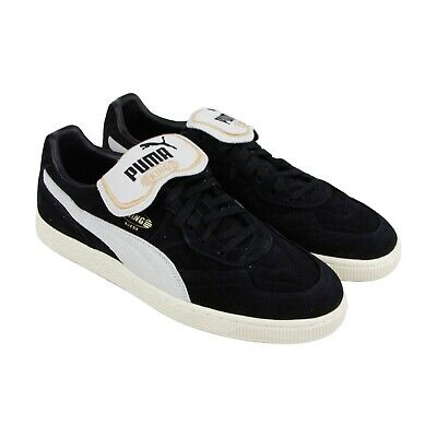 premium selection e2843 31490 Puma King Suede Mens Indoor Soccer Shoe Black White Size US 8 NWOB