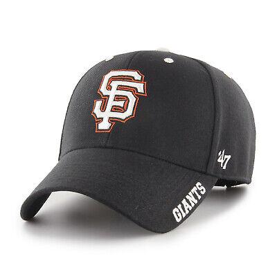 MLB San Francisco Giants SF Cap Basecap Baseballcap MVP Defrost schwarz Baseball
