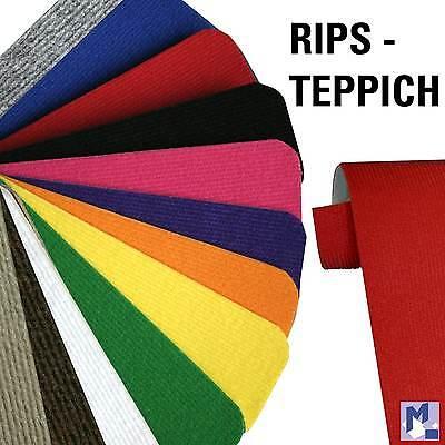 Event - Teppich Rips fein 200 cm br. für z.B. Party + Laufsteg (GP 3,95/m²) NEU