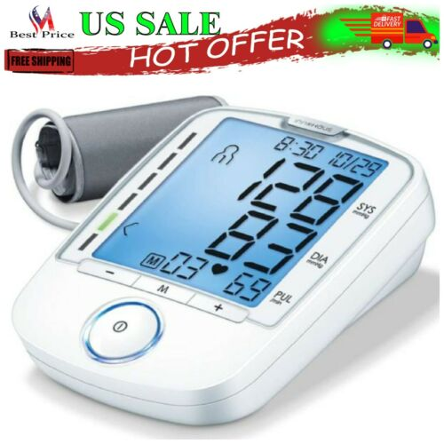 Automatic Digital Blood Pressure Monitor Upper Arm Blood Measure Heart Pulse