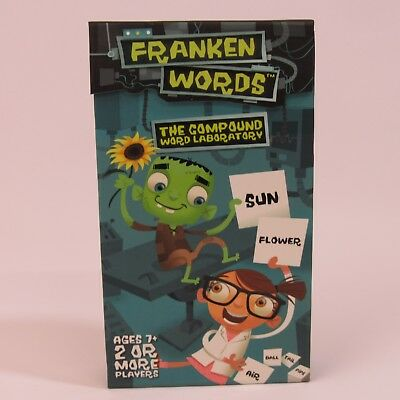 Compound Words Game (Franken Words Card Game NEW Compound Word Laboratory Sequential Thought)