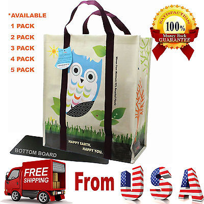 Heavy Duty Laminated (Super Heavy Duty EcoJeannie Laminated Woven Reusable Shopping Bag - 95% Recycled )