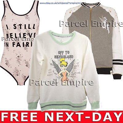 Tinkerbell Leotard (Official Disney TINKER BELL Lounge JACKET Bodysuit LEOTARD Top Peter Pan)