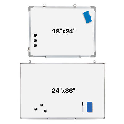 Magnetic Whiteboard Dry 1836 X 24 Inch Erase White Board Wall Hanging Board