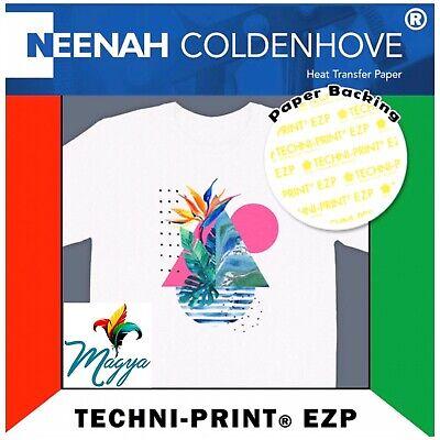 Techni-print Ezp Laser Heat Transfer Paper For Light Colors 8.5 X 11 - 20 Sheets