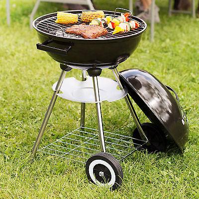 Barbecue à charbon de bois rond boule grille 1