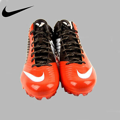 cffdf9df6da Nike Vapor Speed D 3 4 Mid Football Cleats Men s ORANGE BROWN 668839-208  Size 15
