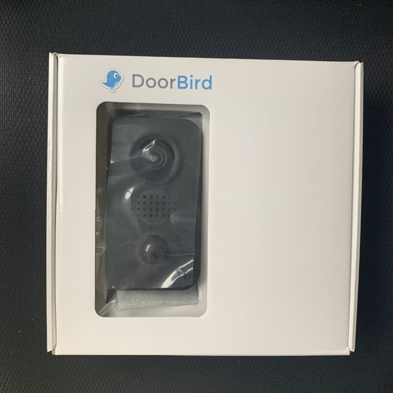 Doorbird D205 Home Automation Security Station Black Unopened