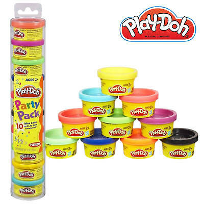 Play-doh Party Pack (Play-Doh Party Pack Modelling Dough Compound 10 Colour Pots! Age 2+)