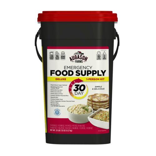Augason Farms Deluxe 30-Day Emergency Food Supply 25-Year Shelf Life 20lb 7.55oz