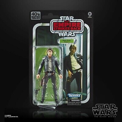 Star Wars Black Series 40th Anniversary Wave 1: Han Solo The Empire Strikes Back