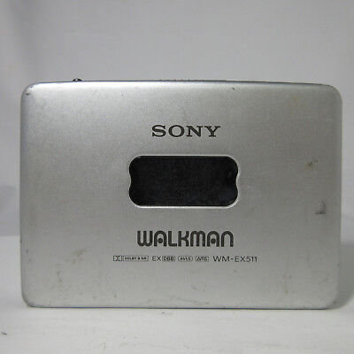 SONY WALKMAN CASSETTE PLAYER WM-EX511 VINTAGE RARE NOT WORKING 180508