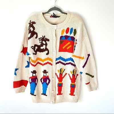 IB Diffusion Vintage Cowboy Indian Cardigan horse