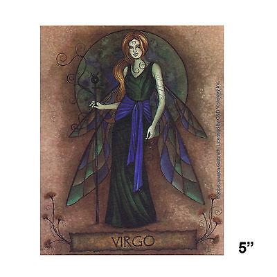 STICKER - Jessica Galbreth Fairy Virgo Horoscope Astrology Zodiac SD34
